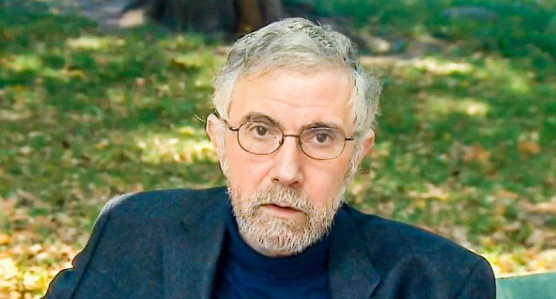 Paul Krugman warns: 'Darkness' of economic malaise and early death is spreading over the middle class