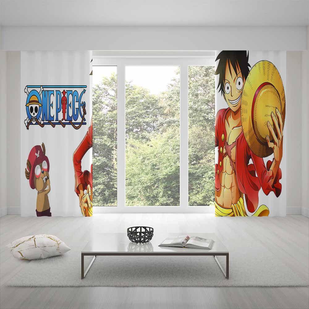 home decor one piece curtains cartoon