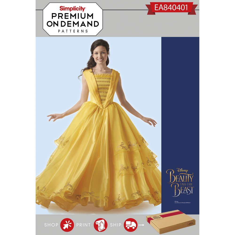 Disney Beauty and the Beast Live Action gownu2014like Belle turn your beast back into a handsome prince with this gorgeous gown.  sc 1 st  Pinterest & Disney Beauty and the Beast Live Action gownu2014like Belle turn your ...