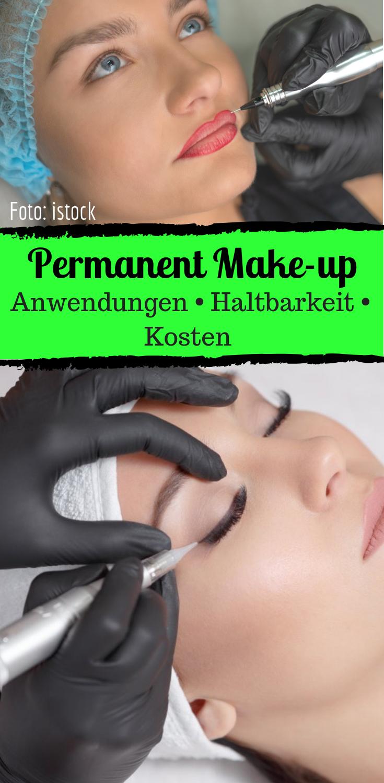 So funktioniert Permanent Make-up  Permanent make up lidstrich
