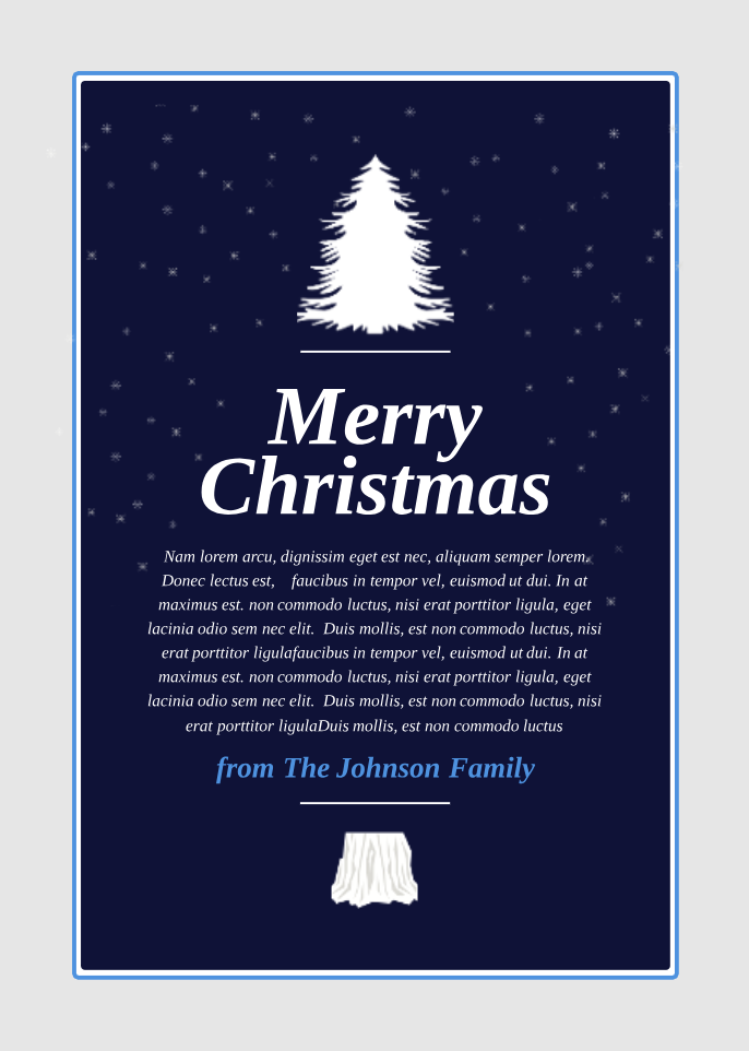 Modern Christmas Card Template Customize This Postcard Template Online With Only A Few Clicks Modern Christmas Cards Christmas Card Template Modern Christmas