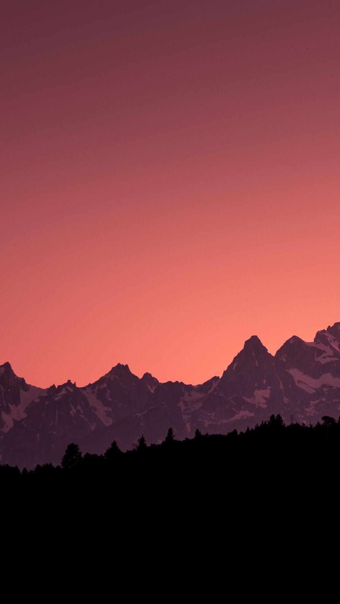 Horizon Grand Teton National Park Mountains Clean Skyline Sunset 1080x1920 Wal Iphone Wallpaper Mountains Landscape Wallpaper Backgrounds Phone Wallpapers
