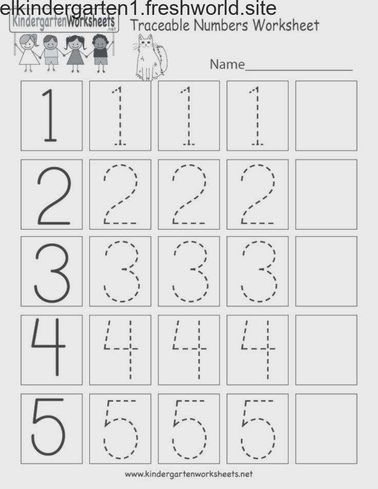 Pin On Numeros 1 Al 10 Number tracing worksheet 1 10