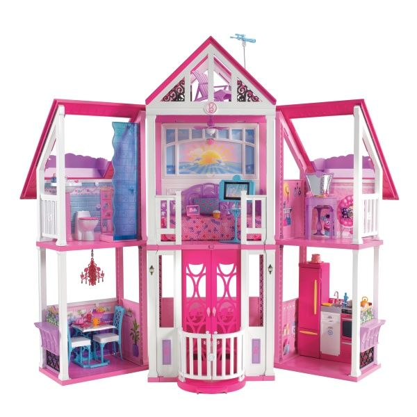 Barbie Dream House | Barbie Californian Dream House - Smyths Toys ...