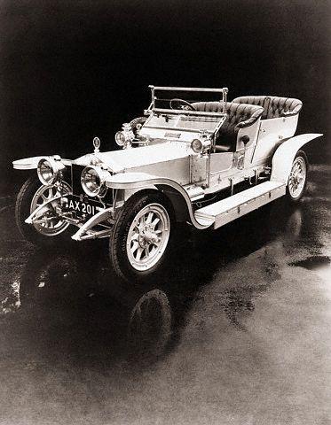 1907—-Rolls Royce Silver Ghost