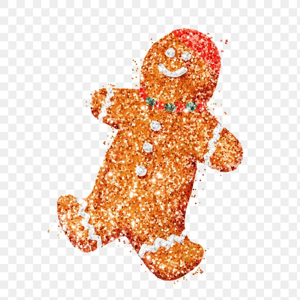 Christmas Cookie Glitter Gingerbread Png Sticker Free Image By Rawpixel Com Jingpixar Christmas Cookies Gingerbread Christmas And New Year