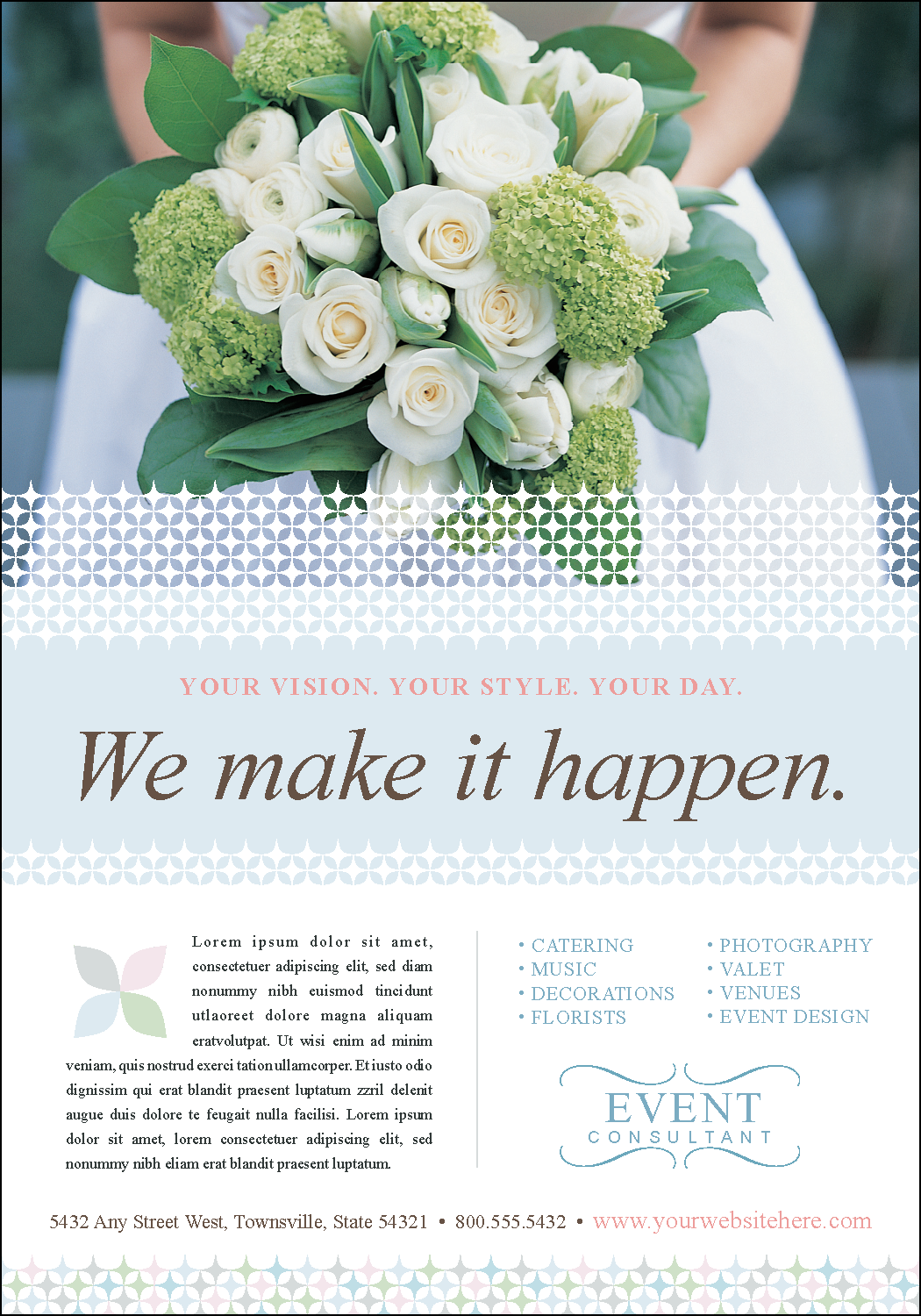 Wedding Planner Brochure Samples