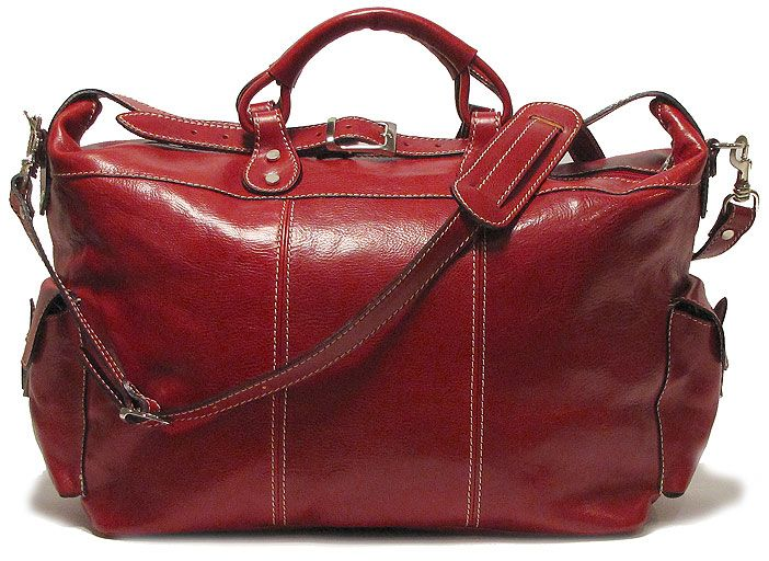 Floto Leather Travel Bag Venezia Tote Tuscan Red | oh my oh my ...