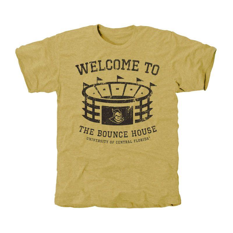 UCF Knights Stadium Tri-Blend T-Shirt - Light Gold  ccc720cd9