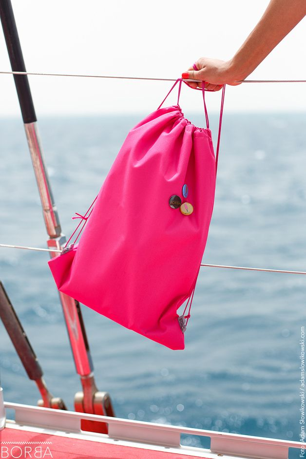 Backpacks – Pink backpack- Adventurous Candy – a unique product by Borba_Pl on DaWanda