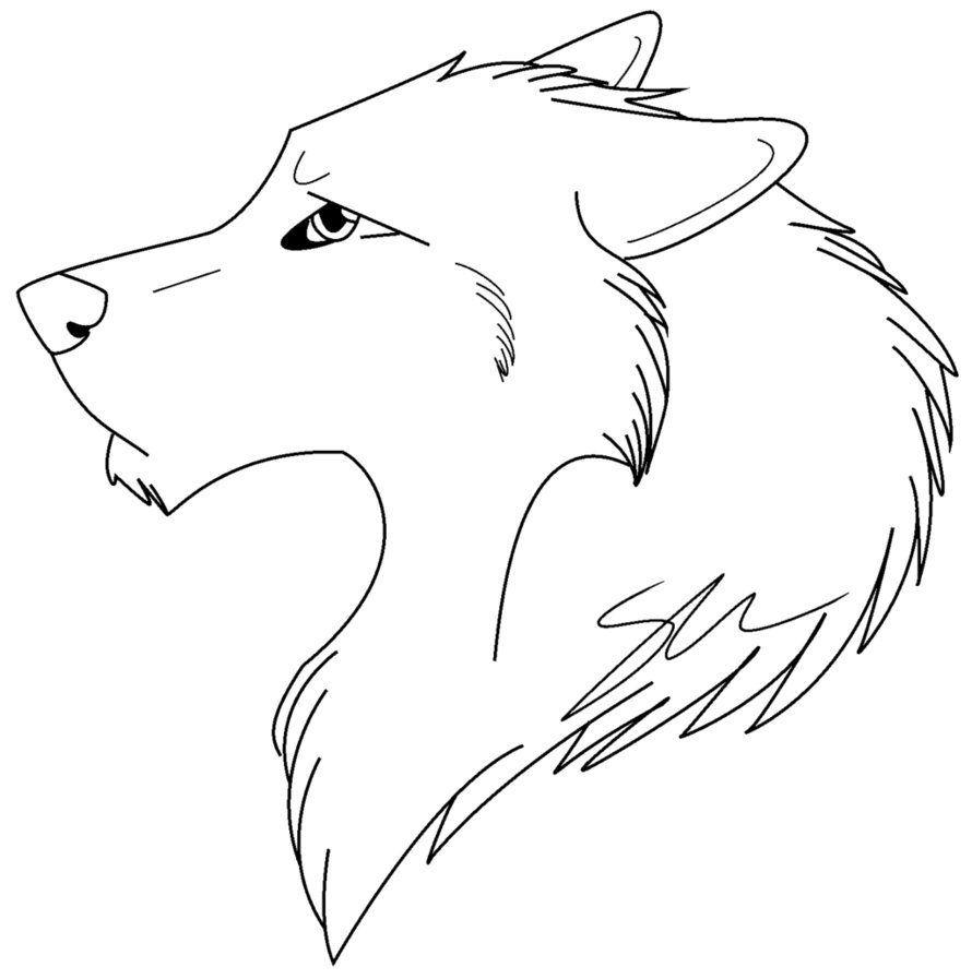 Cabeza De Lobo Para Colorear Lobos Para Dibujar Lobo Dibujo Facil Dibujo De Lobo