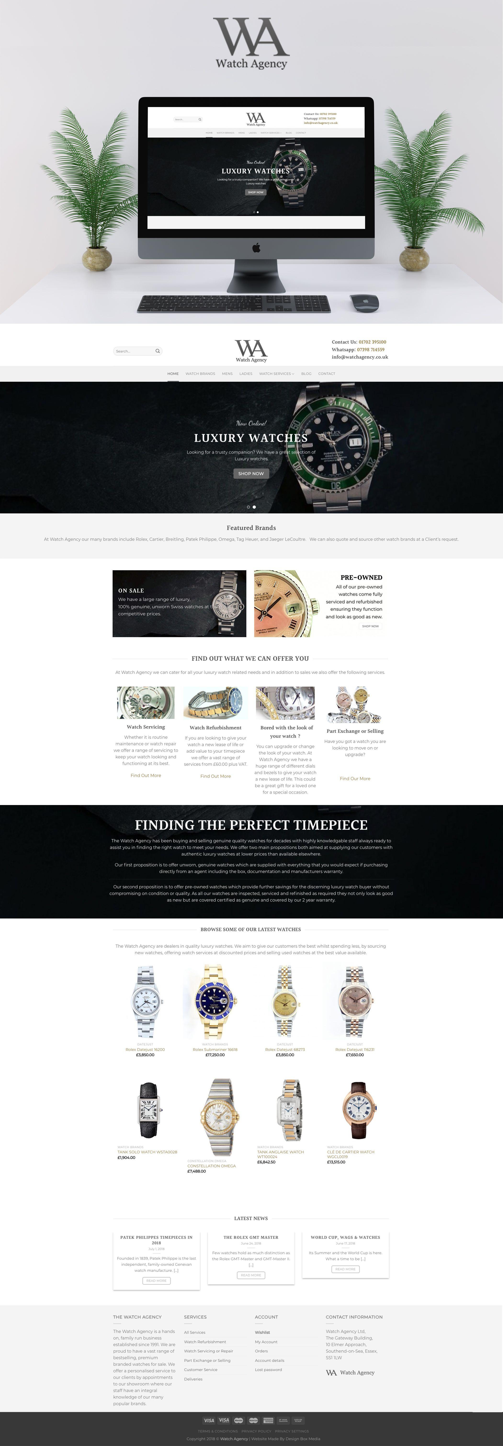 E Commerce Ecommerce Webdesign Website Watchwebsite Watches Watch Ecommercewebdesi Website Design Digital Marketing Digital Marketing Agency