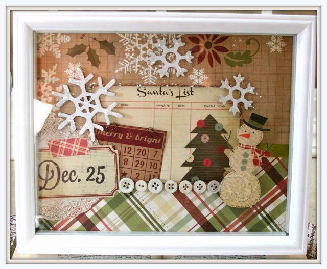 How To Decorate A Shadow Box Fair 12 Ideas For Christmas Shadow Boxes  Christmas Shadow Boxes Shadow Decorating Inspiration