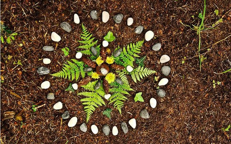 Mandales de tardor - totnens | Tardor, Mandalas, Hippies