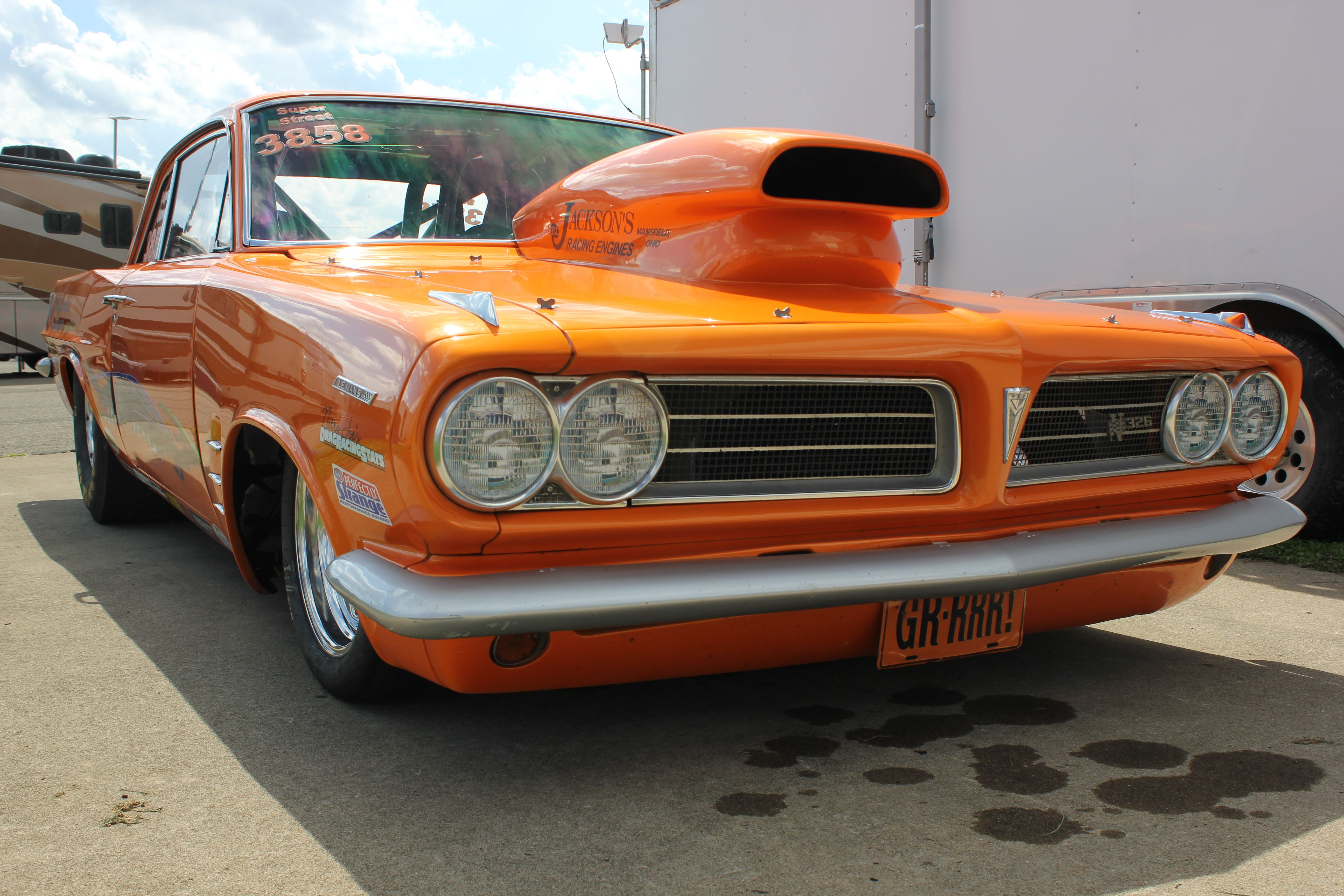 Pontiac Gto Drag Car Jegs Northern Sports Nationals