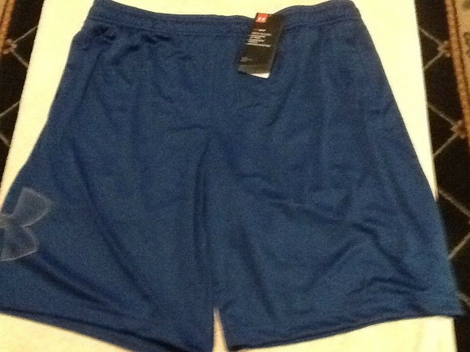 Mens under armour shorts loose fit blue size xl fashion