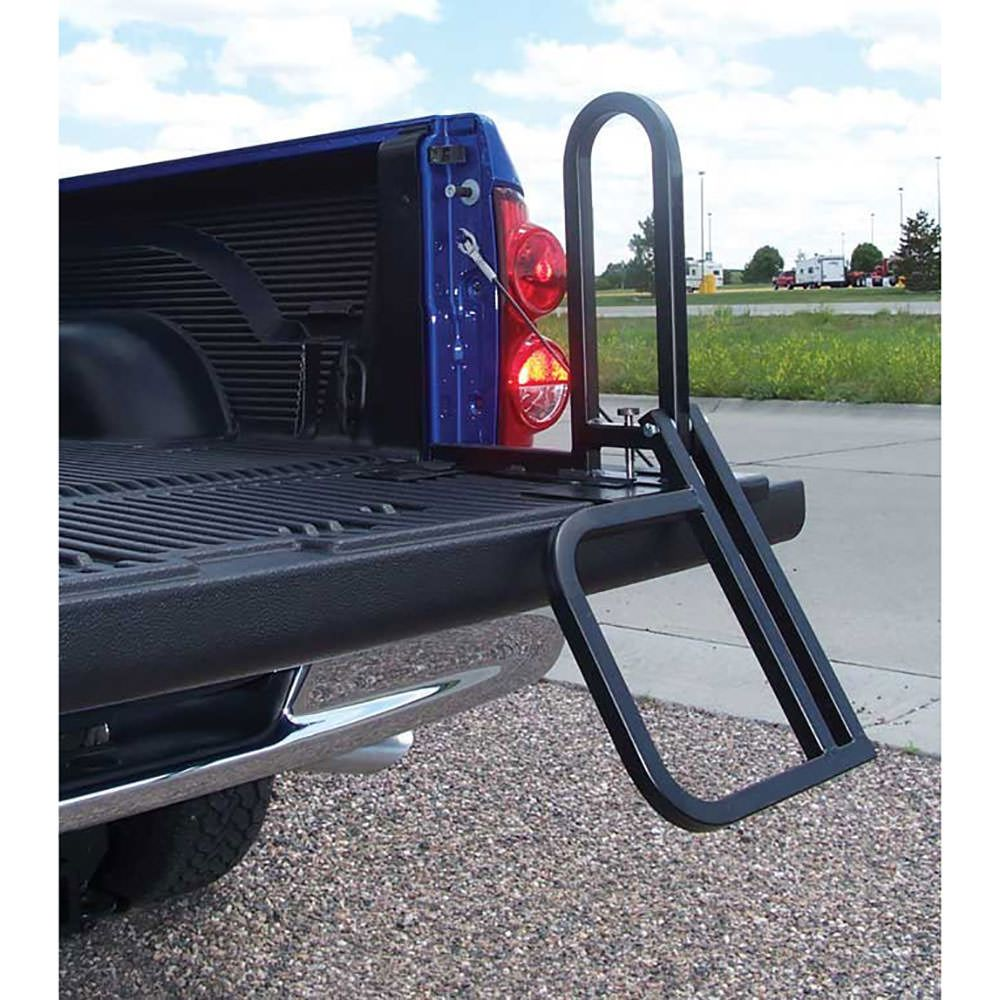 The Step Gate is easy to install on your pickup tailgate