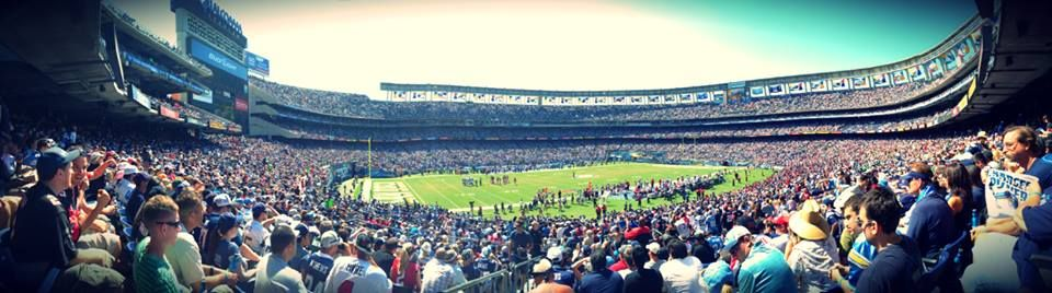 Cheer on your San Diego Chargers at Stadium!
