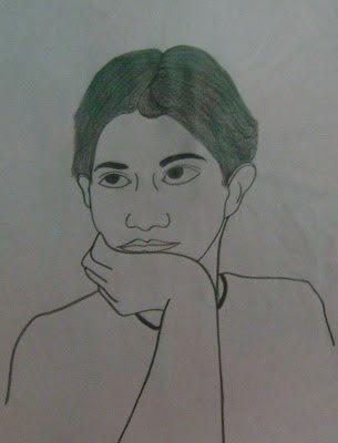 Mis Autorretrato Chicodibujos Dibujoalapis Dibujo Art Desenho Autorretratos Dibujos Dibujos A Lapis