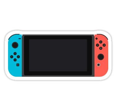 Nintendo Switch Sticker By Crucej Stickers In 2019