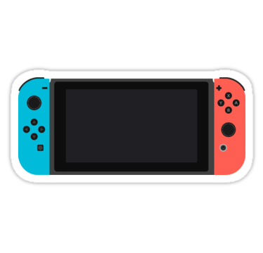 Nintendo Switch Stickers By Crucej Redbubble Pegatinas Kawaii Cosas Creativas Goku Dibujo A Lapiz