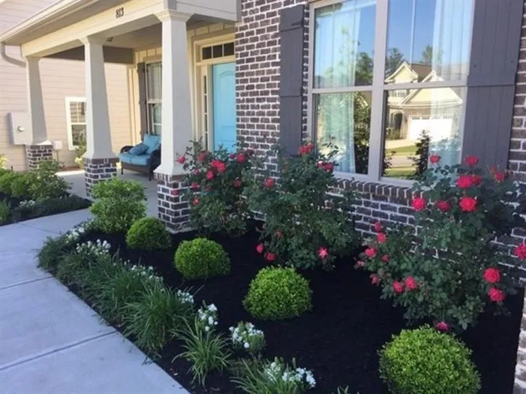 Photo of 56 Simple Landscaping Ideas How To Decor Your Front Yard   #landscaping #garden
