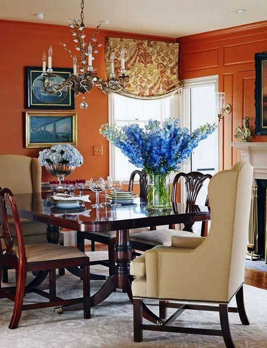 Benjamin Moore Spiced Pumpkin 034 Is A Wonderful North Facing Room Paint Color