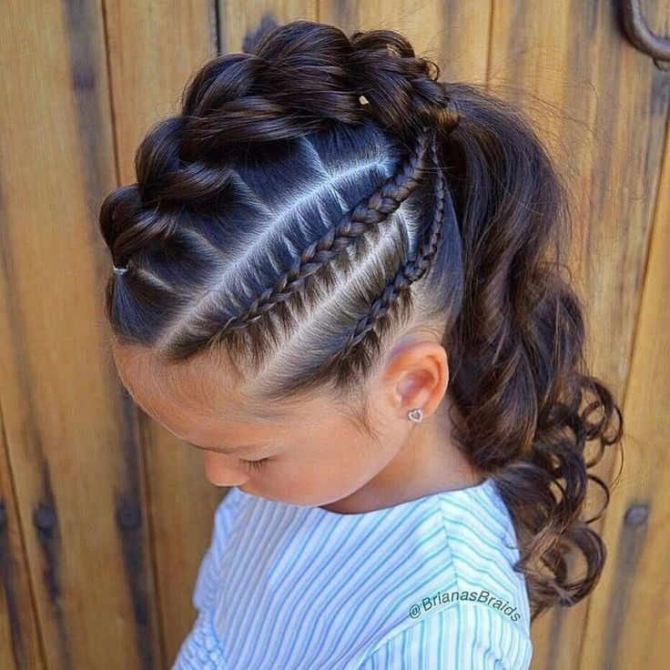 30 Super Cute Hairstyles For Little Girl 2019 In 2020 Girl Hair Dos Hair Styles Kids Hairstyles