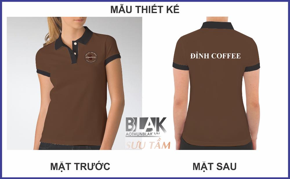 Áo thun đồng phục quán Đỉnh Coffee - Hình 2