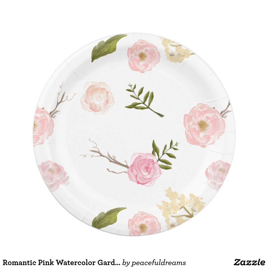 Pink Flower Paper Plates  sc 1 st  Best resumes and templates for your business & pink flower paper plates - Manqal.hellenes.co