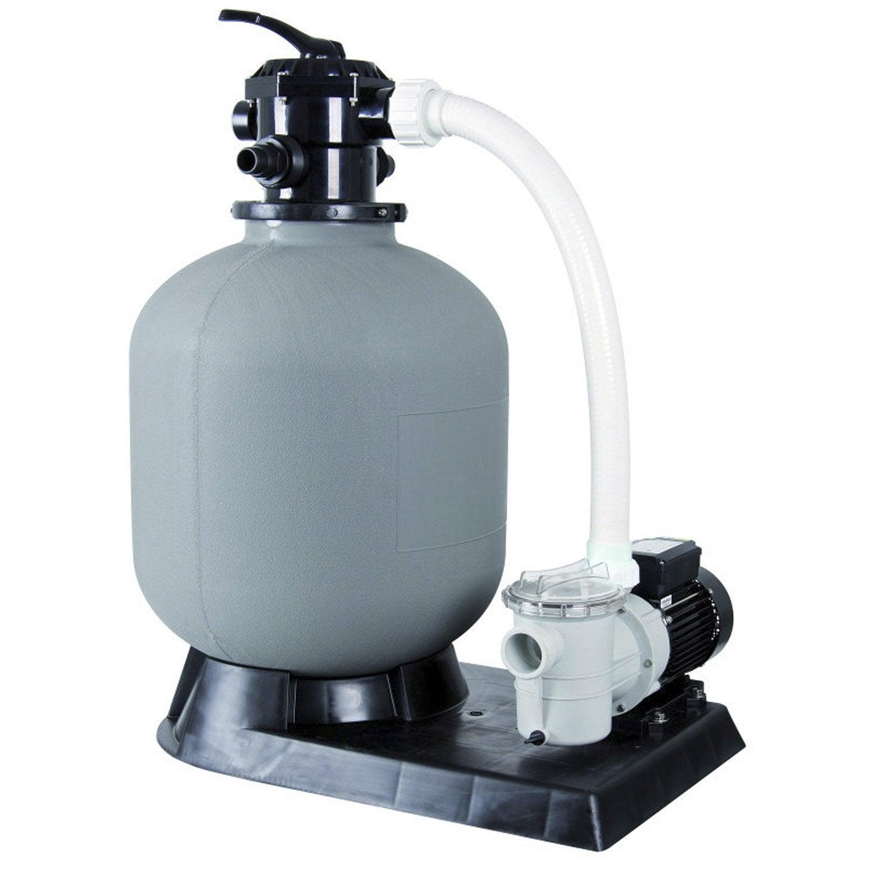 Kit De Filtration A Sable Ubbink 6 M3 H Vanne Top 6 M H Filtre Pour Piscine Piscine Coque Et Filtre A Sable