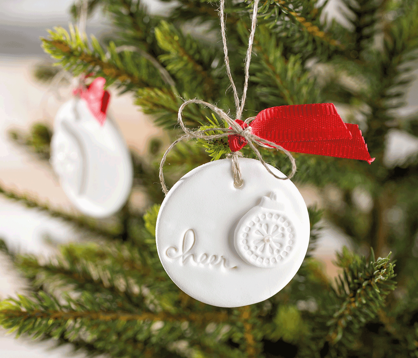 Make Your Own Ornaments Using Simply Pressed Paper Clay