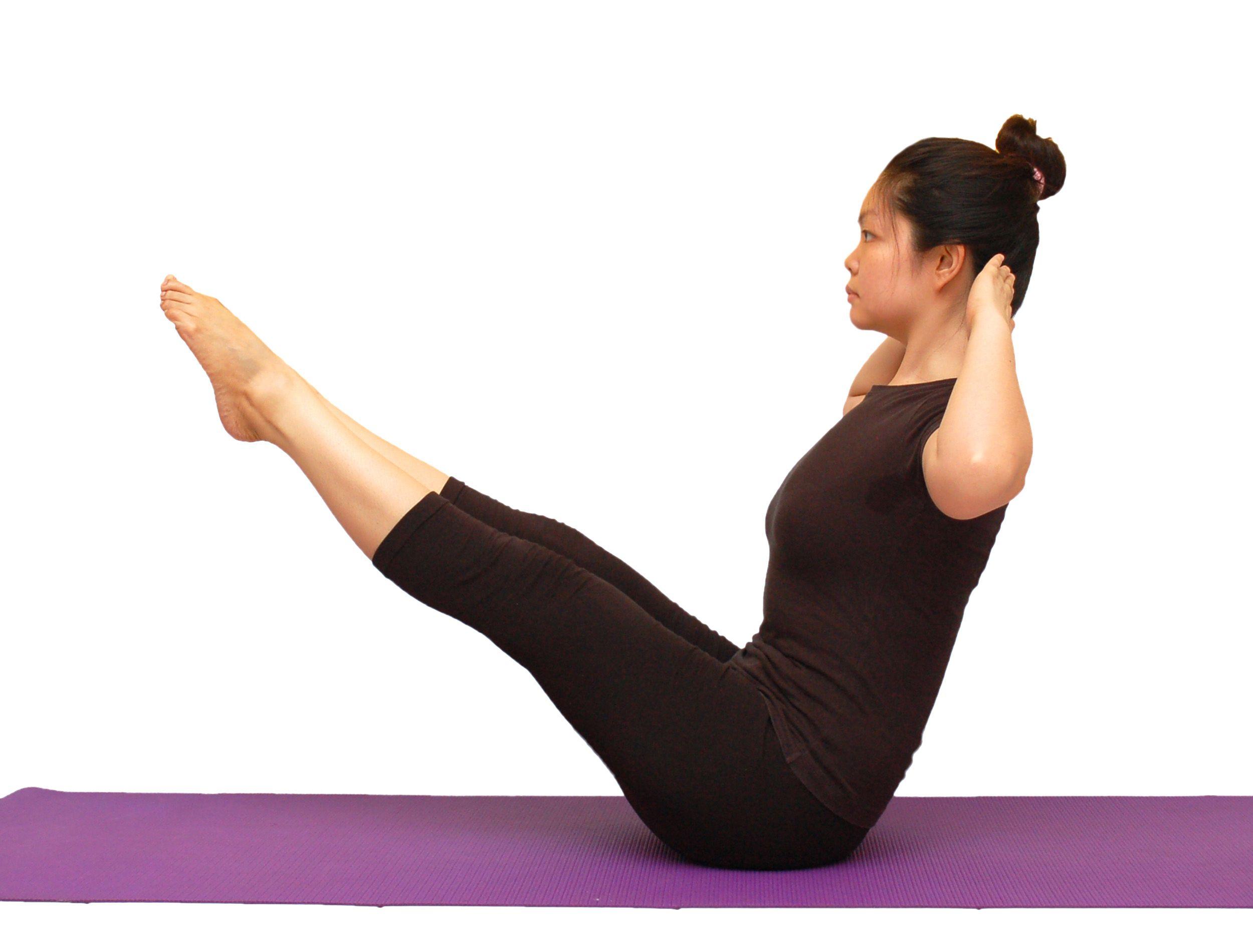 Гимнастика йога похудение