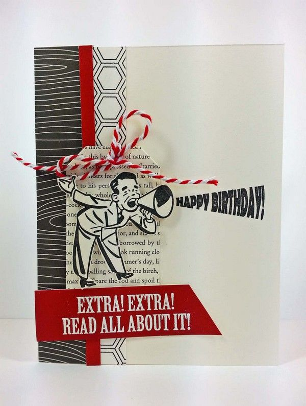 37 Homemade Birthday Card Ideas and Images | Creative ...