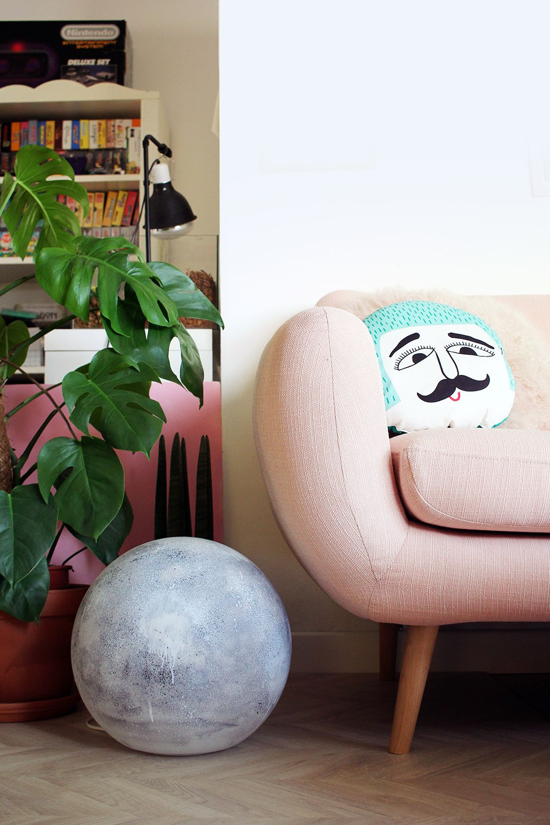 Astuces Deco A Faire Soi Meme Diy La Lampe Moon Diy Dreams Diy Home Decor Inspiration Et