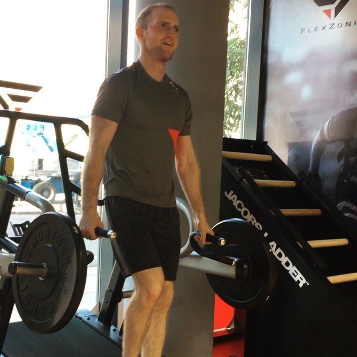 Take a look at FlexZonia's stage one transformation! #sledmill #jacobsladder #torontogym #torontofit...