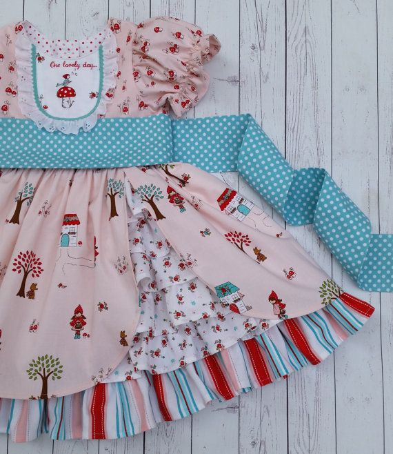 The Amelie Dress PDF Sewing Pattern Size 12 month - 8 Girls Toddler ...