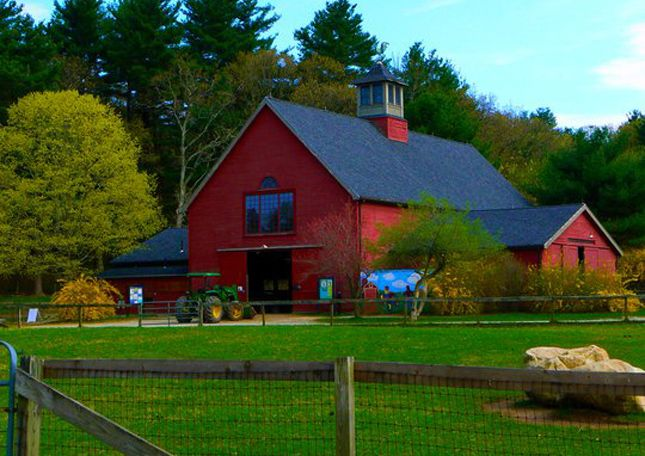 "Farm Barn traditional, nineteenth century ""new england"" barn | barns"