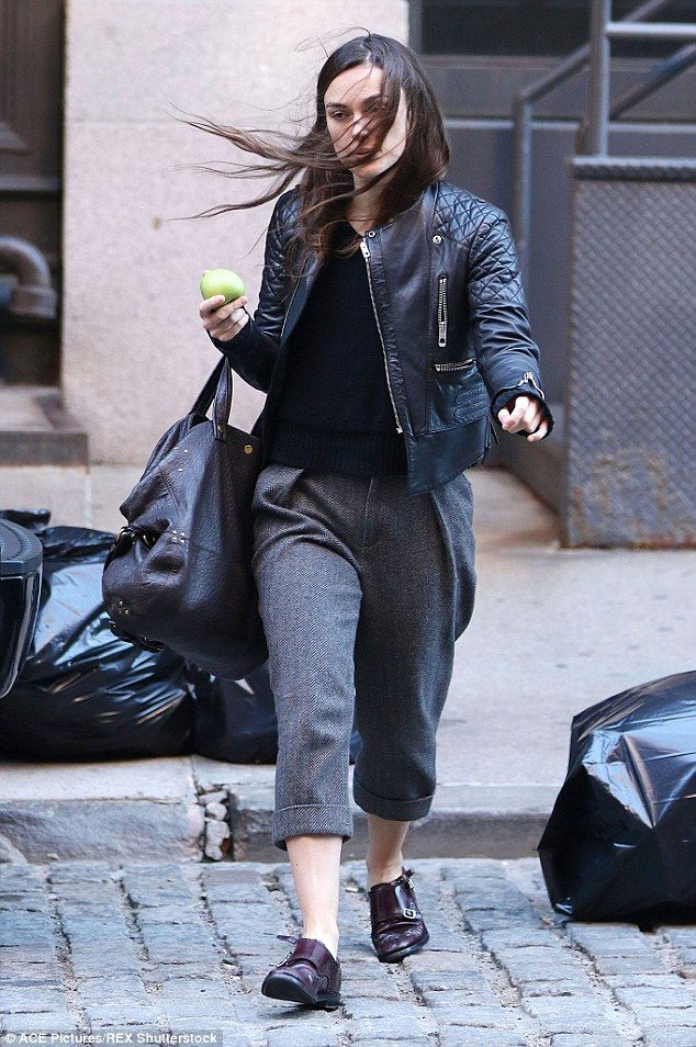 Bad hair day! Keira Knightley was anything but preened to perfection  when she stepped out...