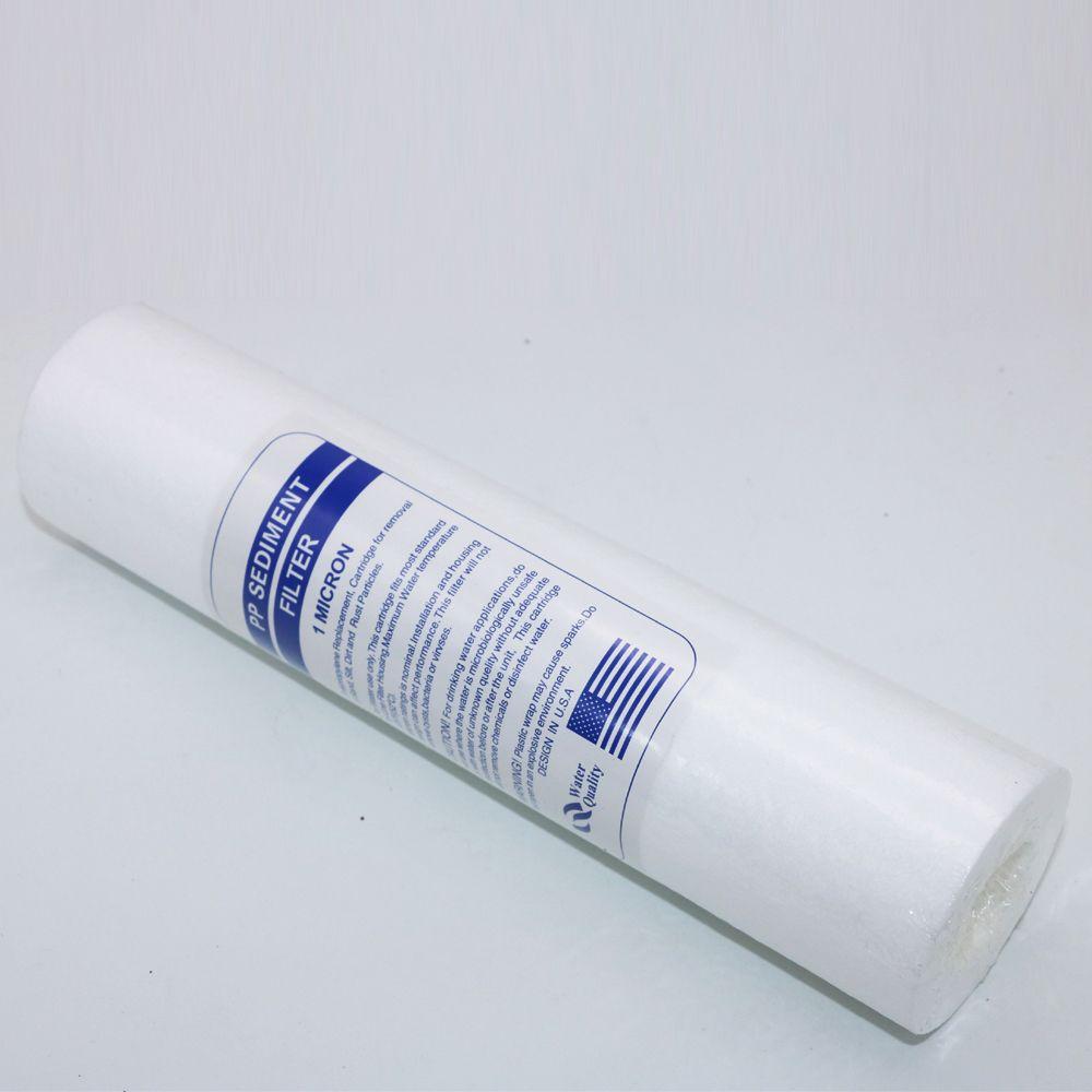 2 Pack Genuine Pentek P1 Standar 10 034 1 Micron Sediment Filter 155225 43 Water Filter Cartridge Filters 10 Things