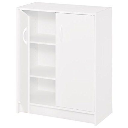 Best Closetmaid 8515 Two Door Storage Organizer White Door 400 x 300