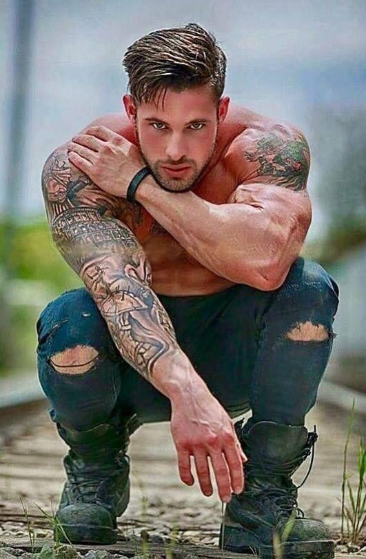 Pin on Tattooed Men