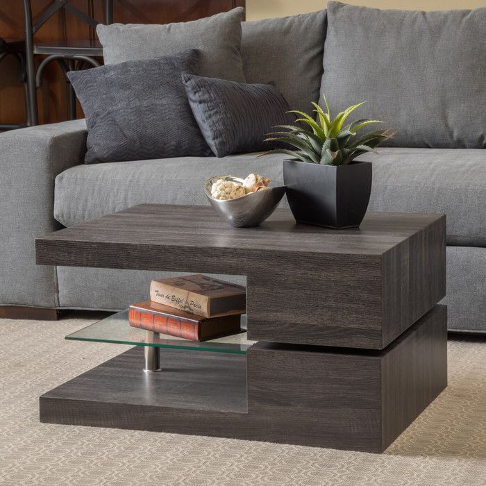 Wade Logan Delwood Coffee Table: Center Table Living Room, Coffee