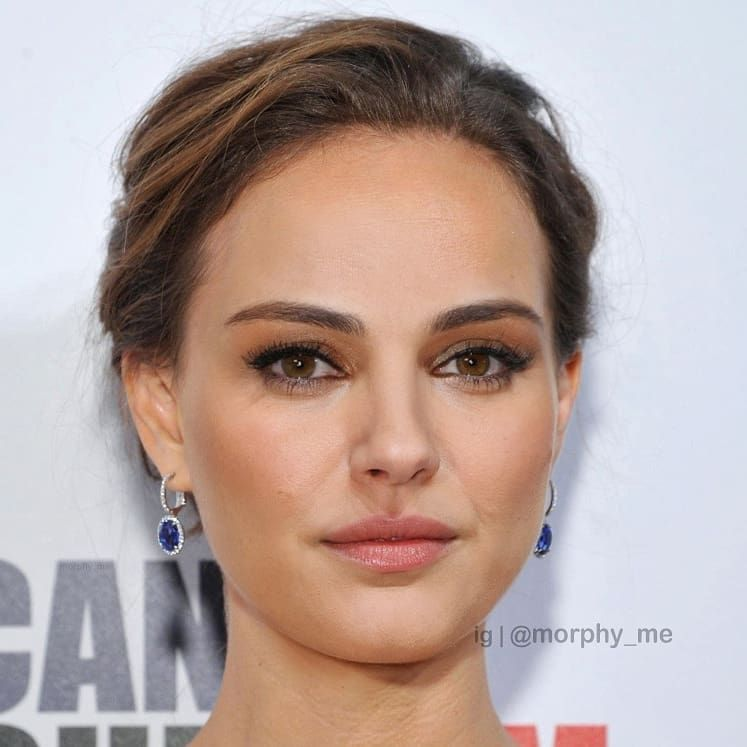 Morphy Mixing Faces On Instagram 714 Mila Kunis Natalie Portman Natalieportman Milakunis Na Celebrity Faces Natalie Portman Famous Faces