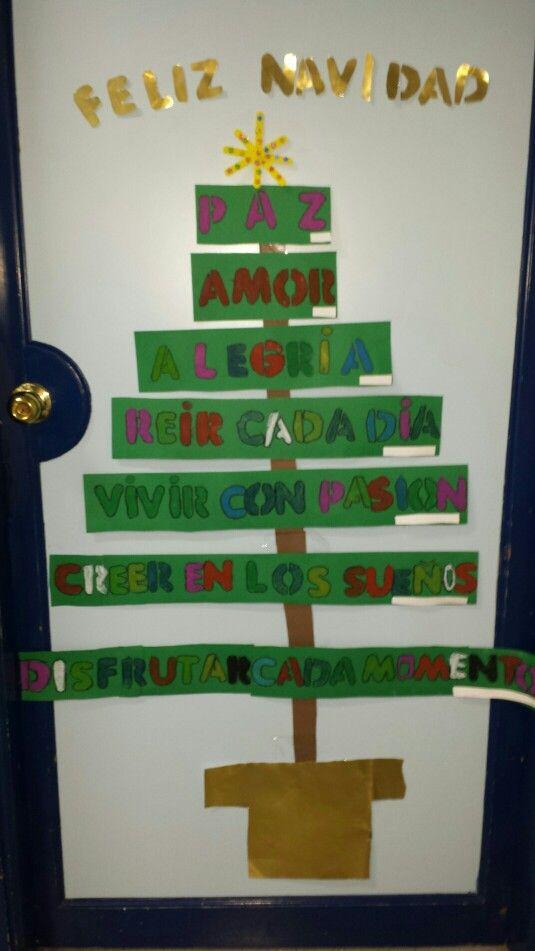 Mi puerta de navidad