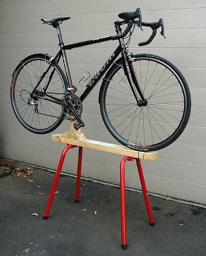 Diy Bike Stand Google Search Bike Stuff Pinterest
