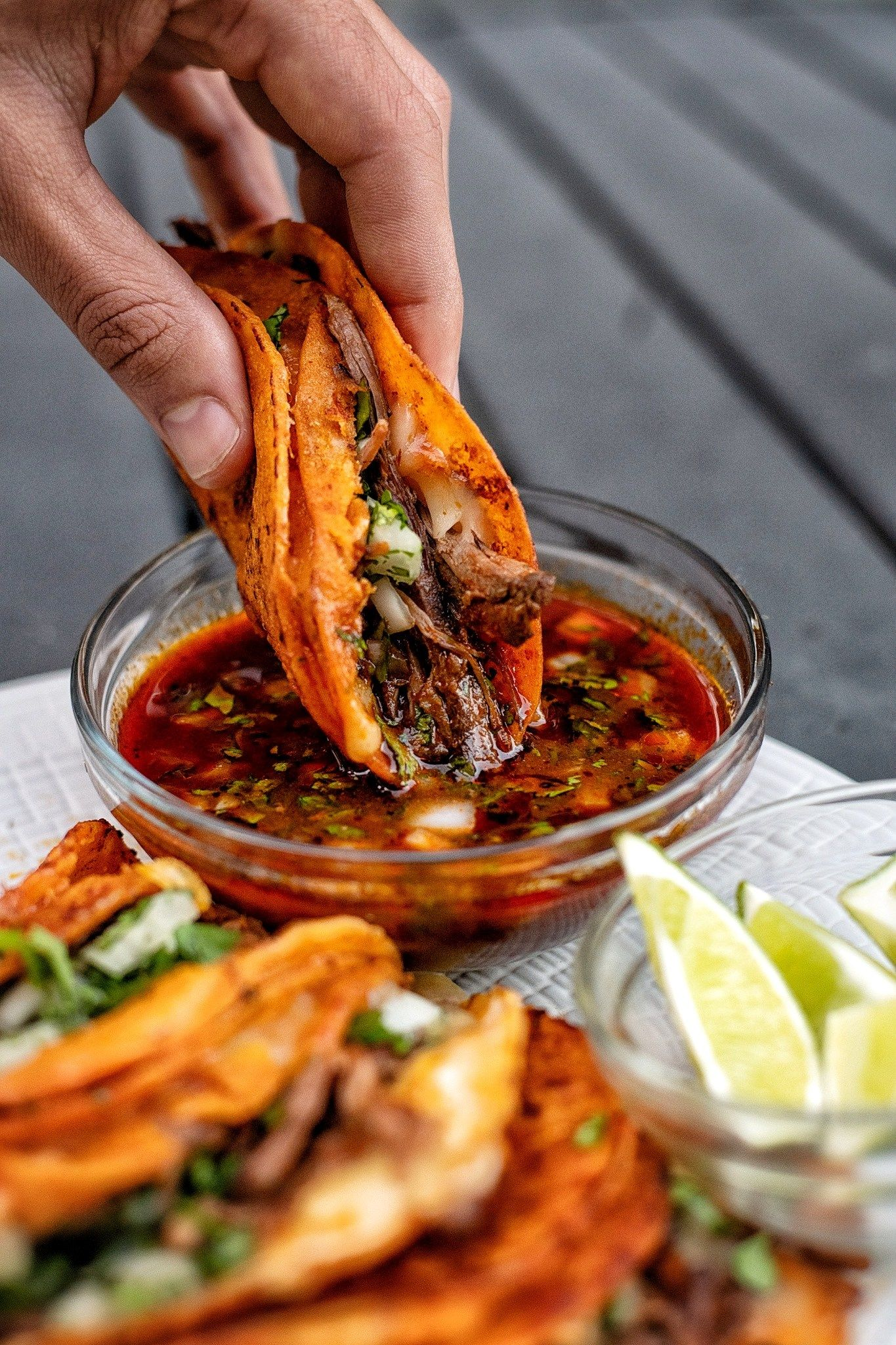 Birria Quesatacos with Consomé - Coop Can Cook
