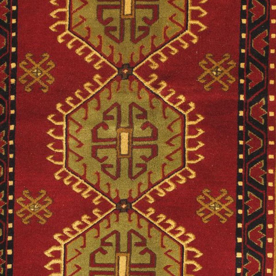 4 7 Quot X 6 7 Quot Royal Rug In Light Brown And Light Burgundy