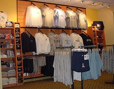 Clothing Store Fixtures Sporting Goods Store Retail Displays Retail Store Layout Retail Display Slat Wall