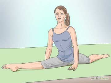 do the splits in a week or less  exercise  how to do